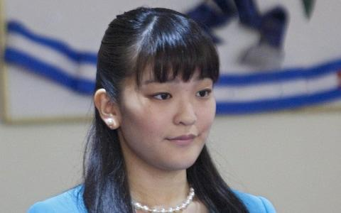 Princess Mako will lose her titles if she marries her fiance - Credit: Gustavo Amador/EPA