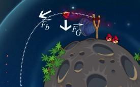 Angry Birds Space physics
