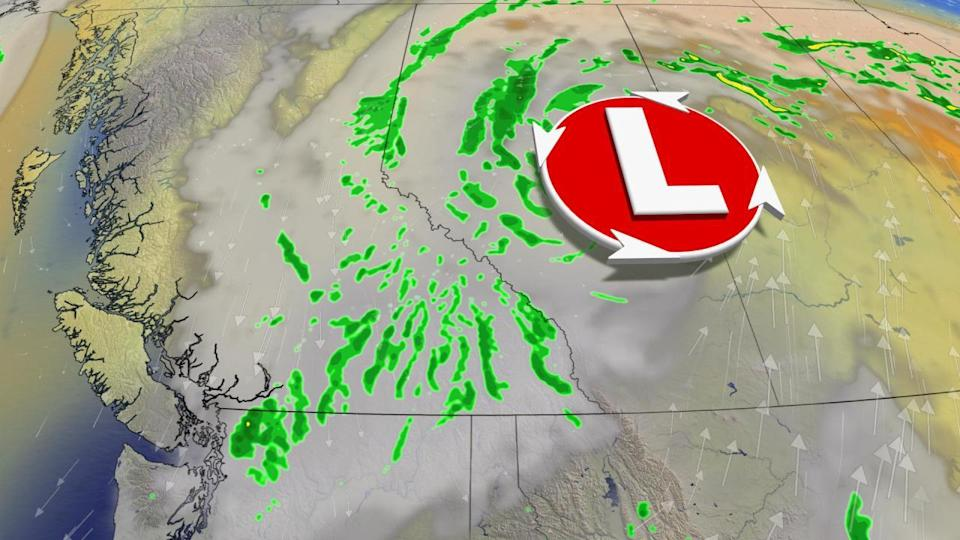 B.C.: High altitude snow, showery end to the week