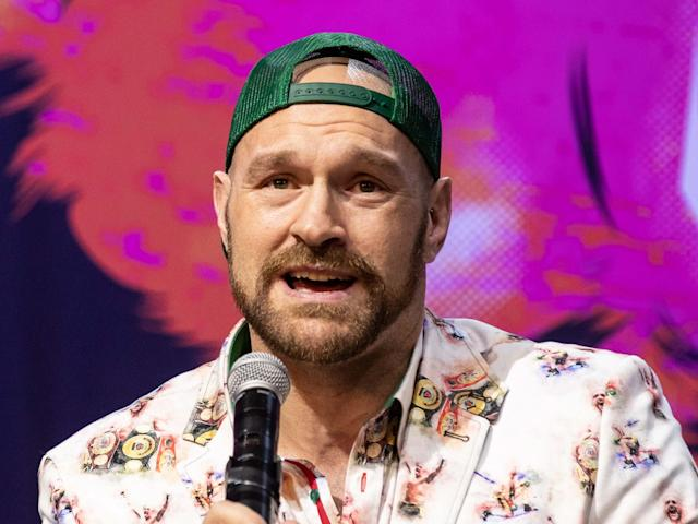 Tyson Fury's mental health issues have been well documented: EPA