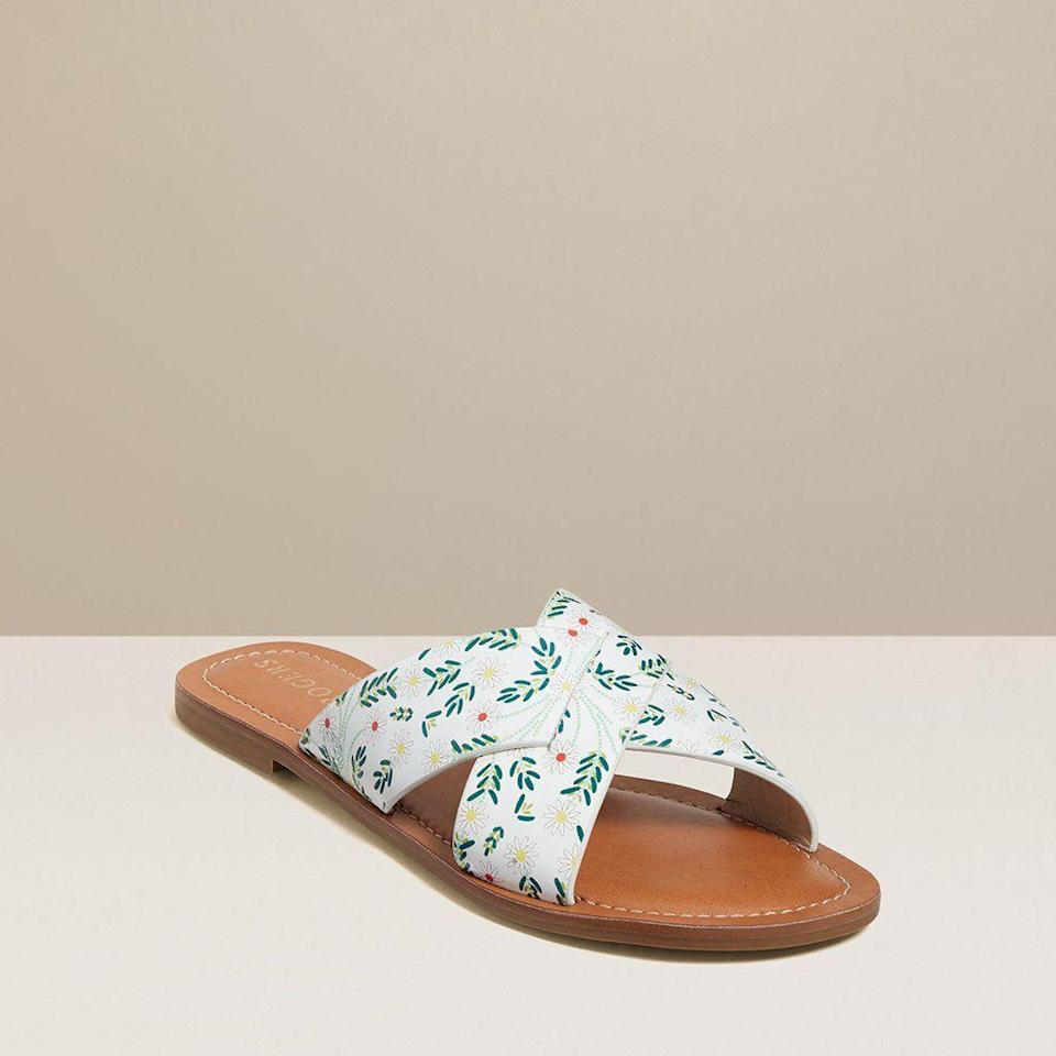 "<p>jackrogersusa.com</p><p><a href=""https://go.redirectingat.com?id=74968X1596630&url=https%3A%2F%2Fwww.jackrogersusa.com%2Fproducts%2Fslotted-daisy-print-sloane-x-band-sandal-white&sref=https%3A%2F%2Fwww.townandcountrymag.com%2Fstyle%2Ffashion-trends%2Fg35863950%2Fjack-roger-spring-2021-sale%2F"" rel=""nofollow noopener"" target=""_blank"" data-ylk=""slk:Shop Now"" class=""link rapid-noclick-resp"">Shop Now</a></p><p>$73.50</p><p><em>Original Price: $98</em></p>"