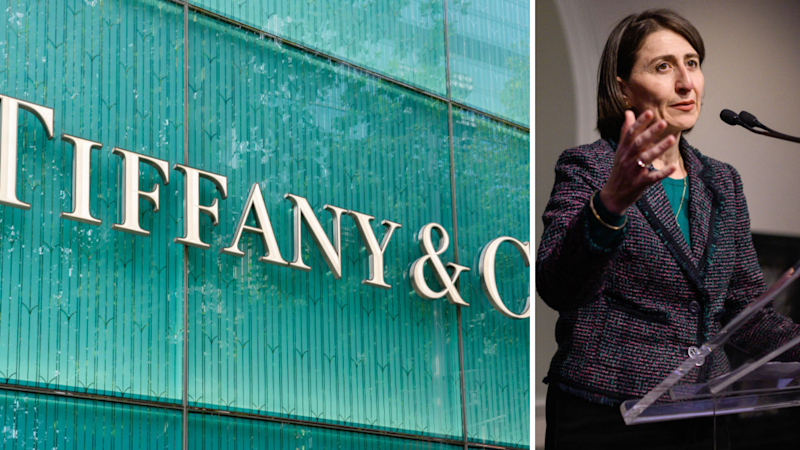 Tiffany & Co is suing Sydney metro for forcibly acquiring its iconic Martin Place office and store. Source: Getty