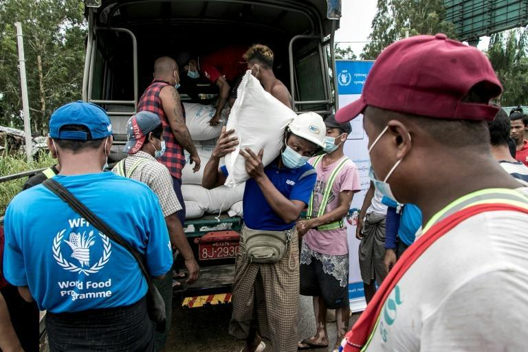 The World Food Programme estimates that within the next six months, as many as 3.4 million more people will go hungry in Myanmar