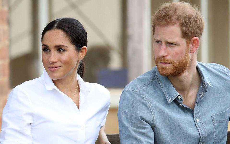The Sussexes pictured in Australia in October 2018 - Chris Jackson/pool/Getty