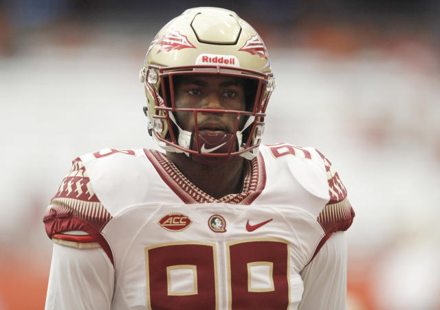 Florida State's Brian Burns finished second in the ACC in sacks this past season. (AP)