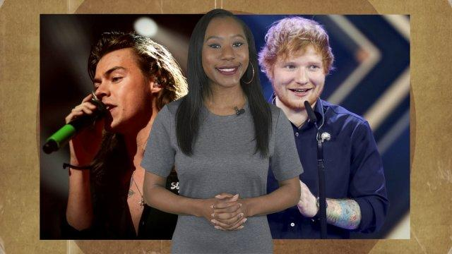 Music Minute: Ed Sheeran teases new music, Harry Styles releases solo single Sign Of The Times