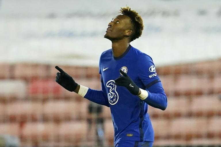 Tap in for Tammy: Tammy Abraham's goal earned Chelsea a 1-0 win over Barnsley in the FA Cup fifth round