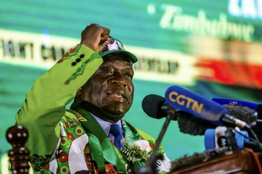Mnangagwa unveiled his party manifesto on May 4 -- the election will be a crucial test of his legitimacy