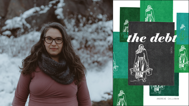 The Debt is a poetry collection by Andreae Callanan. (Biblioasis - image credit)