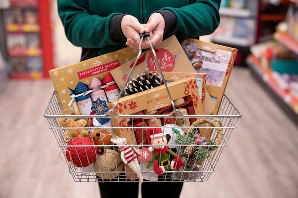 Morrisons said it is expecting Christmas demand to be greater than usual this year (Dave Thompson/PA) (PA Archive)
