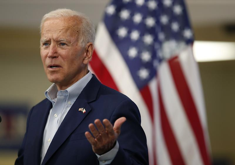 Biden Calls Trump's Iran Strategy 'A Self-Inflicted Disaster'