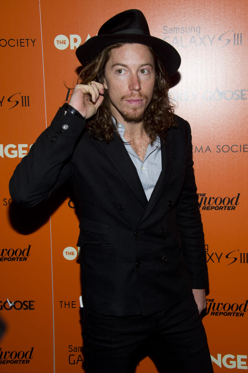 """<p>Shaun White attends """"The Oranges"""" screening hosted by the Cinema Society and The Hollywood Reporter on Friday, Sept. 14, 2012 in New York. (Photo by Charles Sykes/Invision/AP) </p>"""
