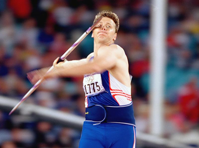 Backley propelled the javelin 89.95m in Sydney to follow up his Atlanta 1996 silver with the same medal four years on