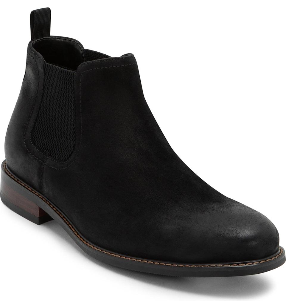 <p>In our humble opinion, every guy could use a great boot. <span>The Blondo Kai Waterproof Chelsea Boot</span> ($150) is so chic.</p>