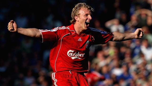 <p>Kuyt's second season saw him used more frequently out wide by manager Rafa Benitez, after the high-profile signing of Fernando Torres.</p> <br><p>He may have only registered three in the league in 2007/08 but Kuyt began to fully cement fan favourite status, with his unparalleled work rate and passion. Scoring two penalties to give Liverpool a 2-1 win over rivals Everton may also have helped his reputation somewhat. </p>