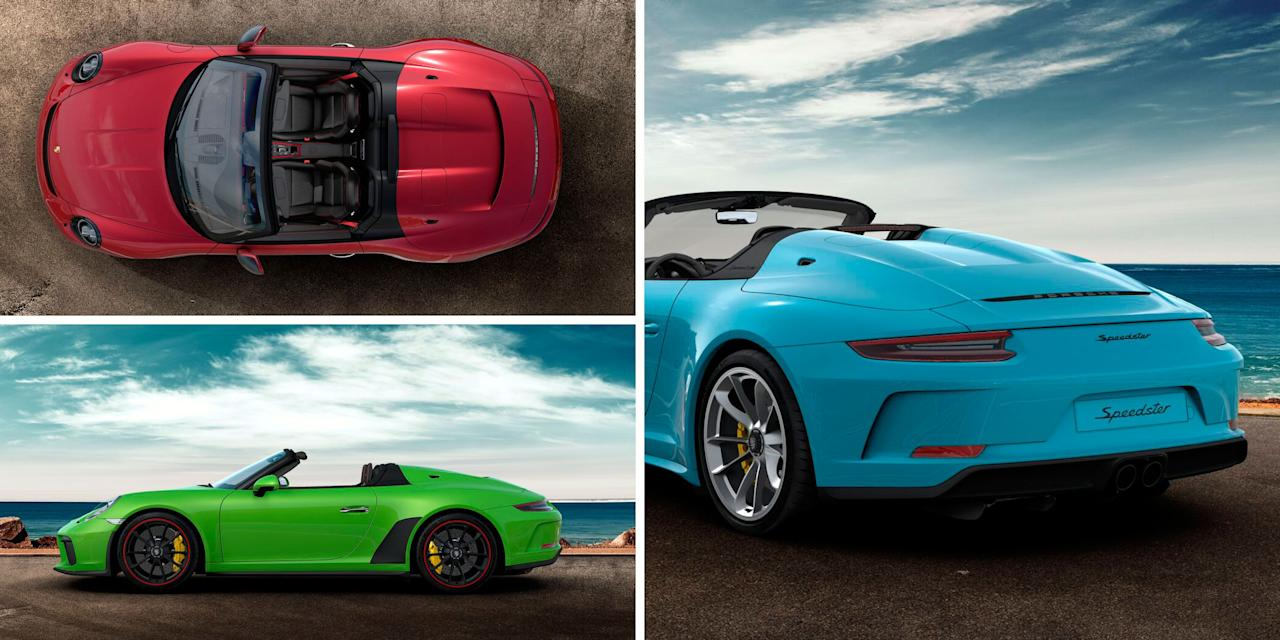 "<p><a href=""https://www.caranddriver.com/news/a27170789/2019-porsche-911-speedster-photos-info/"" target=""_blank"">Porsche's 911 Speedster</a> is here, and like its humpbacked forebears, it's eye-catching. It also costs an eye-watering $275,750-far more than a base, $92,350 911 Carrera and more than every other 911 variant save for the 700-hp 911 GT2 RS. Naturally, few of us (okay, none of us, at least here) can afford such an extravagance, and that's assuming the 1948 lucky examples slated for production haven't been spoken for already. So, in a clearly unhealthy effort to satiate our Speedster fantasies, we took to Porsche's freshly minted online configurator to build a few unique versions of the specialest modern 911. </p><p>Click through to see how <em>Car and Driver</em> editors Eric Stafford, Drew Dorian, Daniel Golson, Mike Magrath, and Alexander Stoklosa would build out their Speedsters-at least in their dreams. </p>"