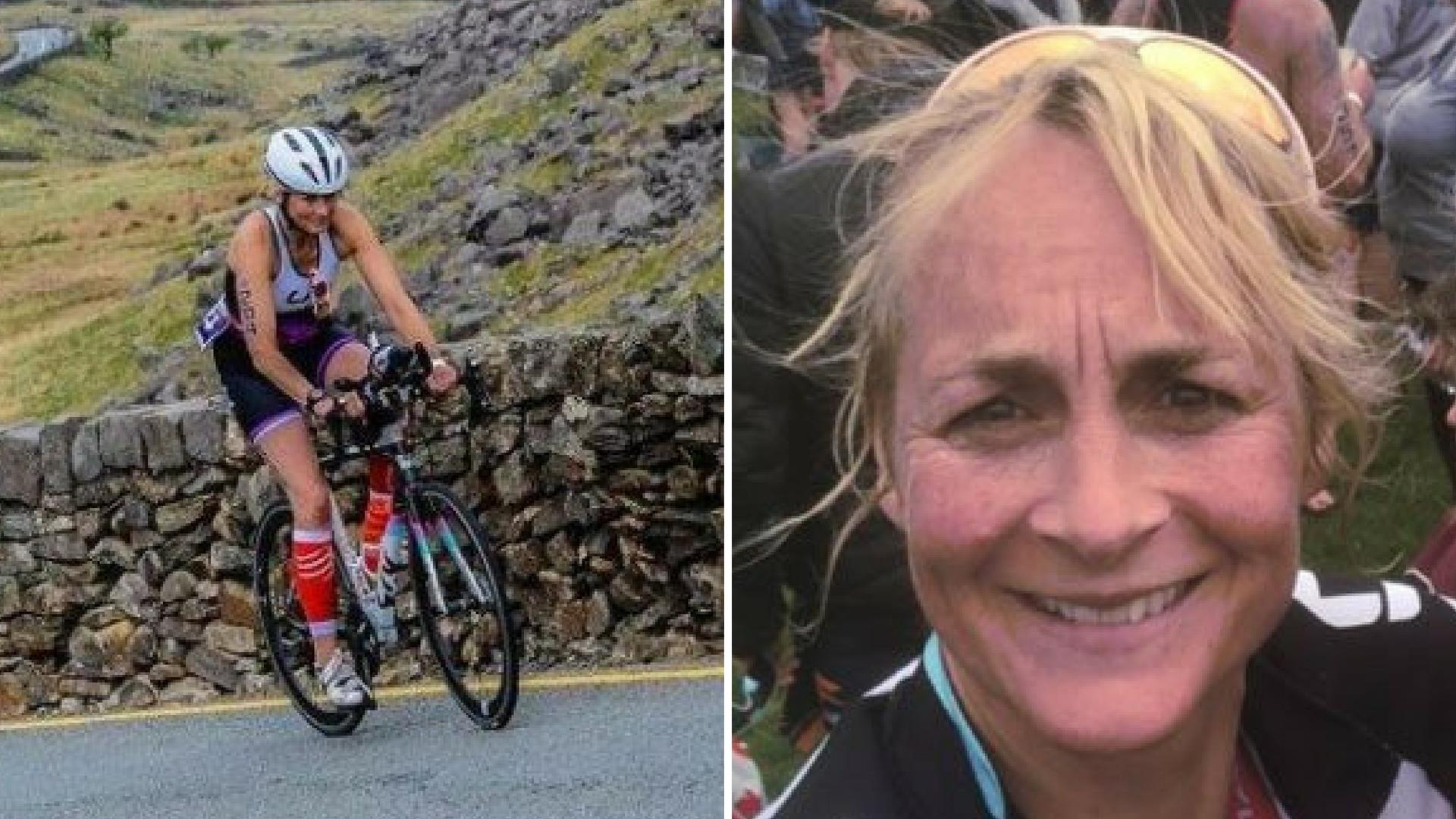 Louise Minchin has denied she cheated during a triathlon