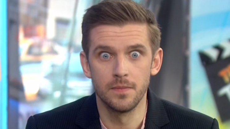 You Must Not Look Away From Dan Stevenss Eyes Photo Today