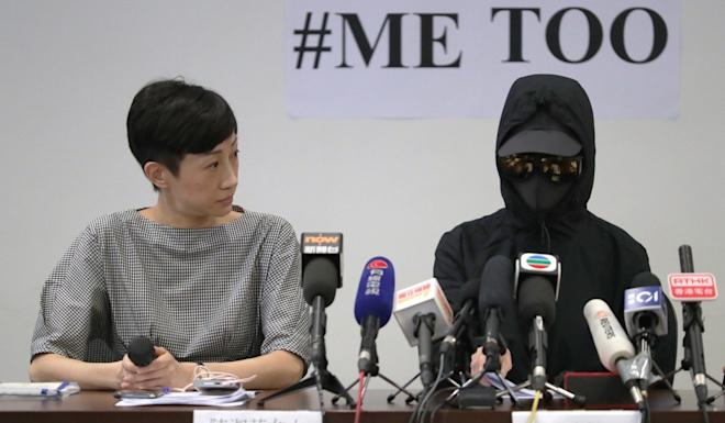 Lawmaker Tanya Chan and Ms Lui at the news conference on Friday. Photo: Edmond So