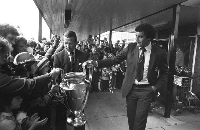 Forest won their second consecutive European Cup in the Bernabeu