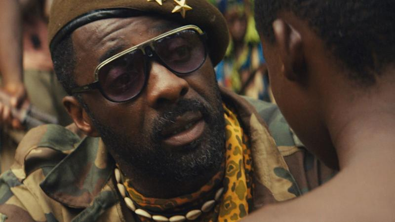 A still from Netflix's Beasts of No Nation