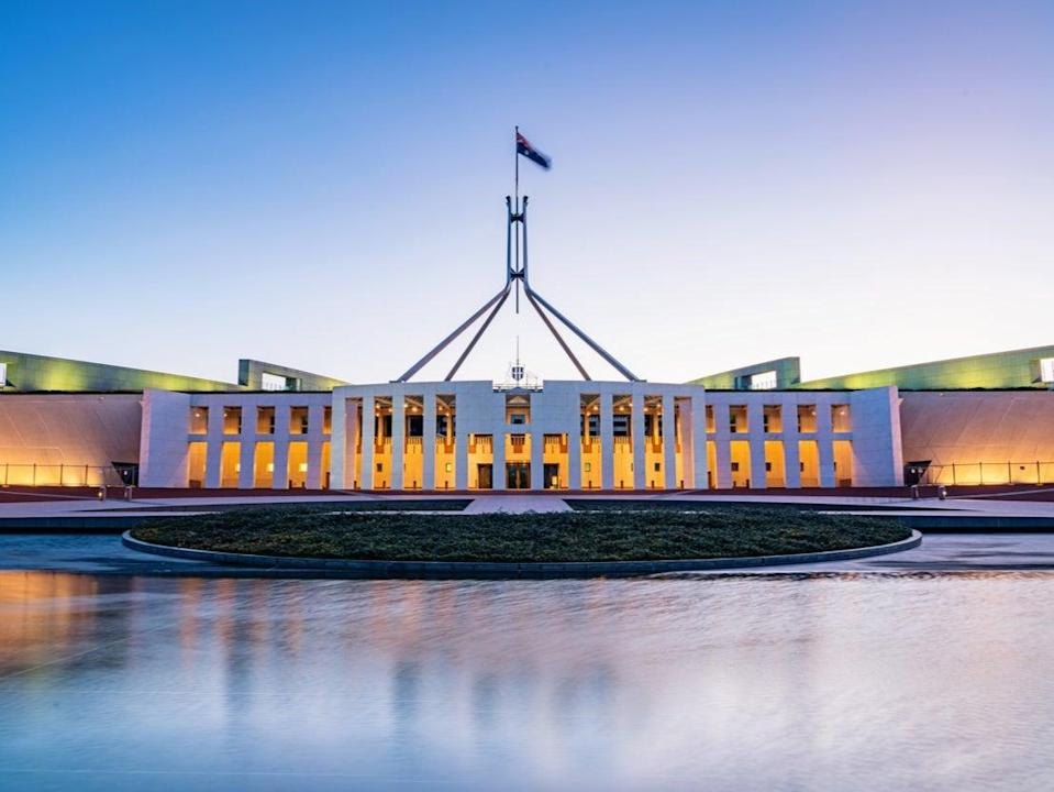 Australian Parliament House in Canberra (Getty Images)