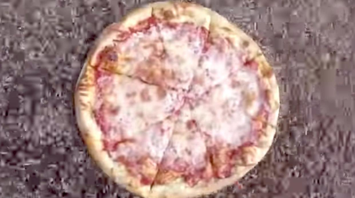 Fountain' of maggots devours 16-inch pizza in the name of