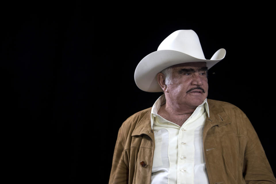 Vicente Fernández. (AP Photo/Refugio Ruiz)