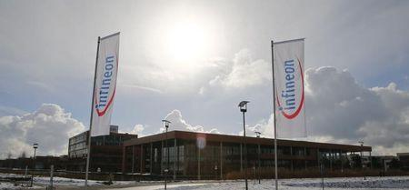 The headquarters of German semiconductor manufacturer Infineon in Neubiberg