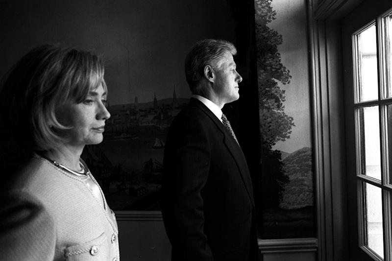 Political details: Hillary and Bill Clinton in the TV documentary series Hillary