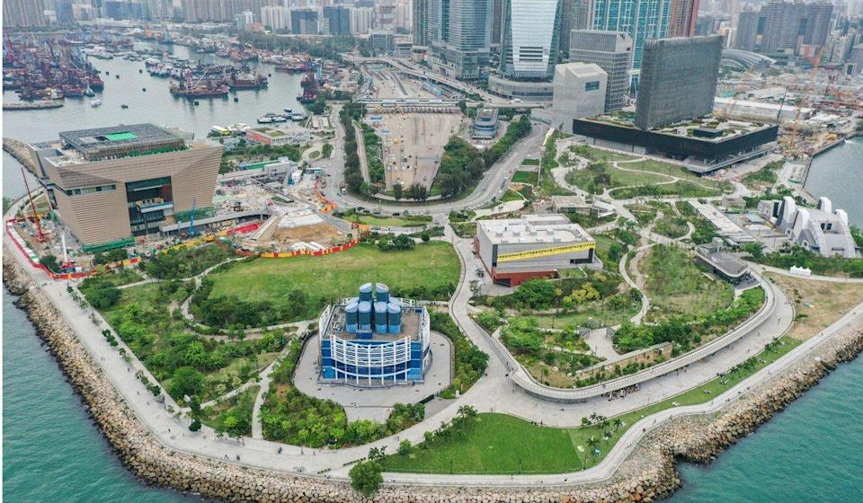 The West Kowloon Cultural District is expected to open next year. Photo: Sam Tsang