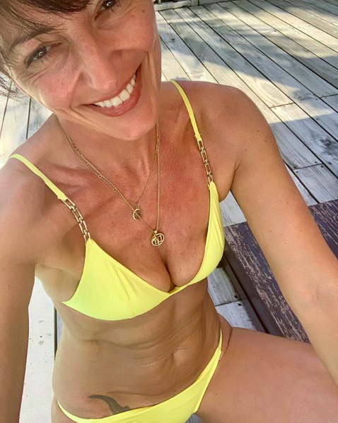 <p>Davina McCall never fails to impress and her latest swimwear ensemble further cements the theory that zesty yellow is fast becoming the new millennial pink. <em>[Photo: Instagram]</em> </p>