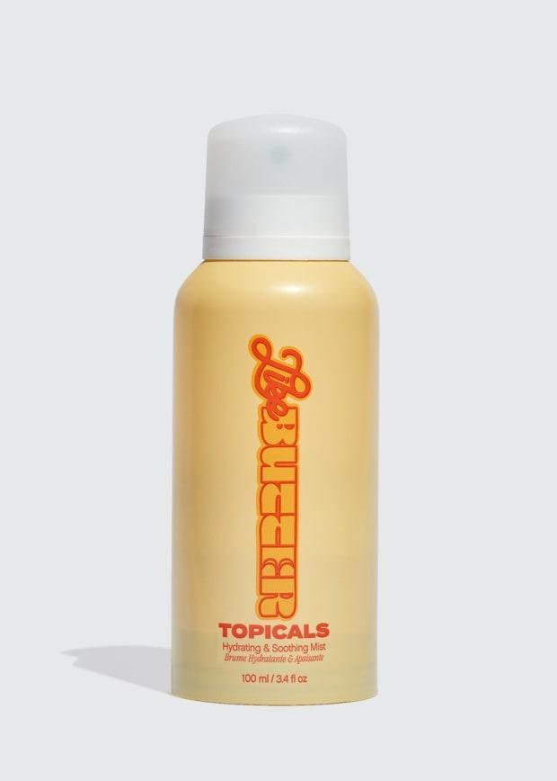 """<p><strong>Topicals Like Butter Hydrating & Soothing Mist, $28, <a href=""""https://shop-links.co/1753451029539353127"""" rel=""""nofollow noopener"""" target=""""_blank"""" data-ylk=""""slk:available here"""" class=""""link rapid-noclick-resp"""">available here</a>: </strong>""""A lightweight, mist-on iteration of the brand's mega-popular Like Butter mask, this moisturizing spray calms and soothes my skin — even the weird, extra-dry patches that always crop up with the shift to fall — without the need for slathering on excessive amounts of moisturizer. (Though, I do still like to use some lotion or body oil on top to seal in all of its goodness and make its effects last even longer.)"""" —Stephanie Saltzman, Beauty Director</p>"""