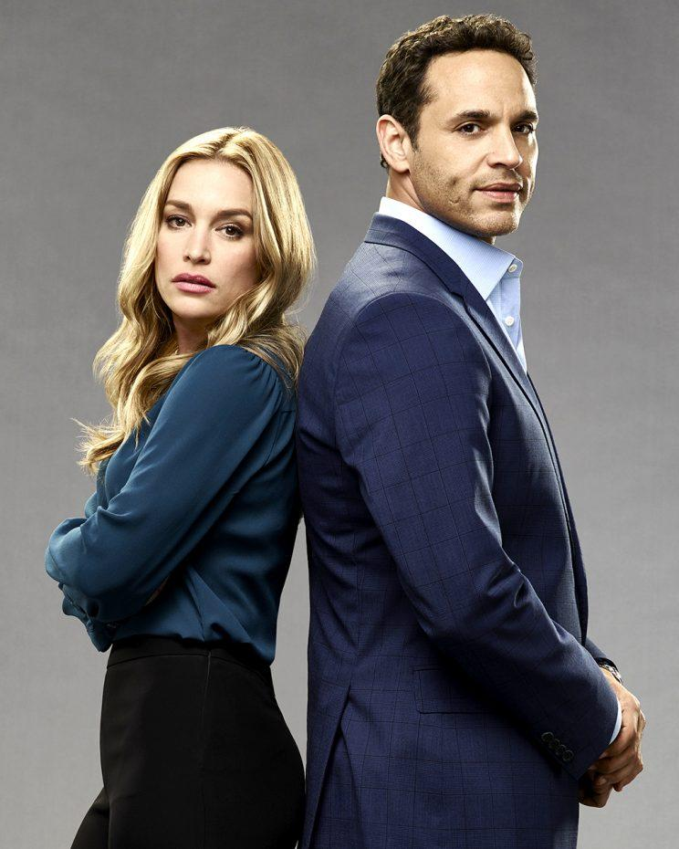 "Piper Perabo and Daniel Sunjata star in ""Notorious."" (Photo: Kevin Foley/ABC)"