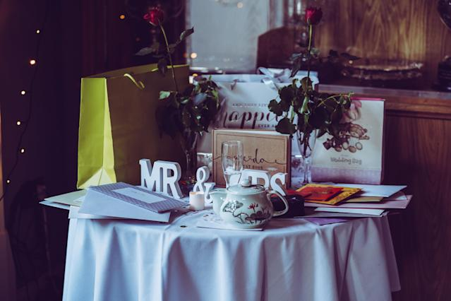 Wedding guests in the UK are prepared to spend £44.97 on a gift in 2019. Photo: Yomex Owo/Unsplash