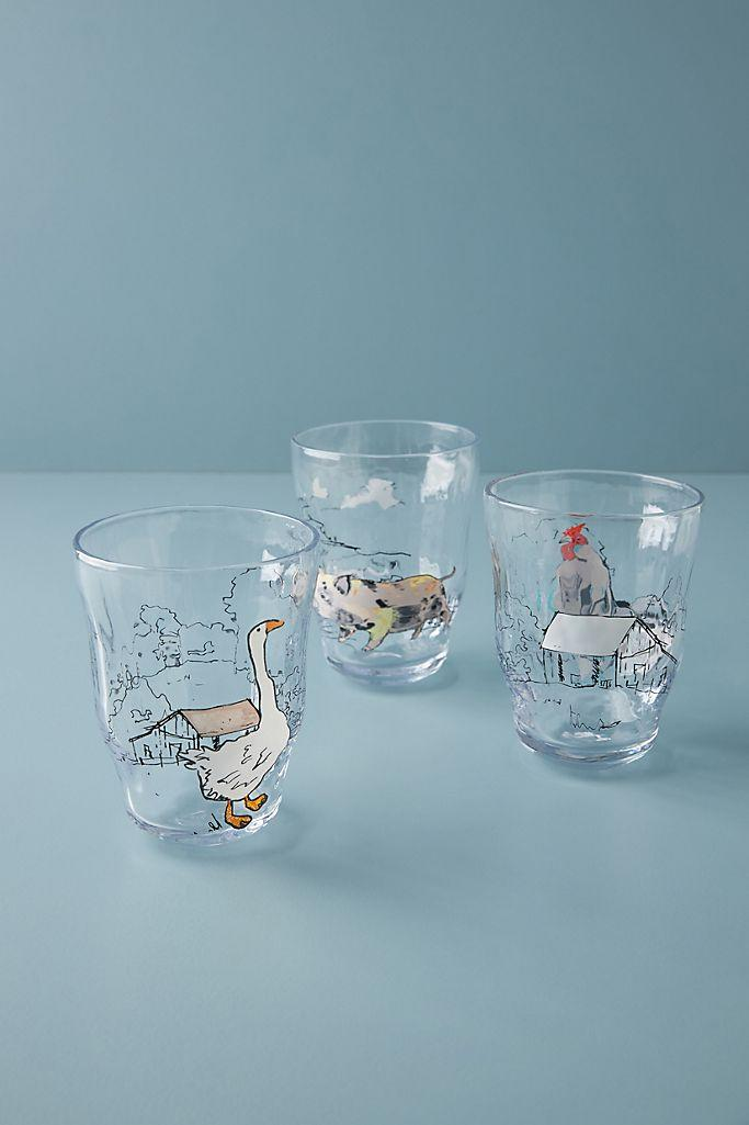 Homestead Juice Glass. (Anthropologie)