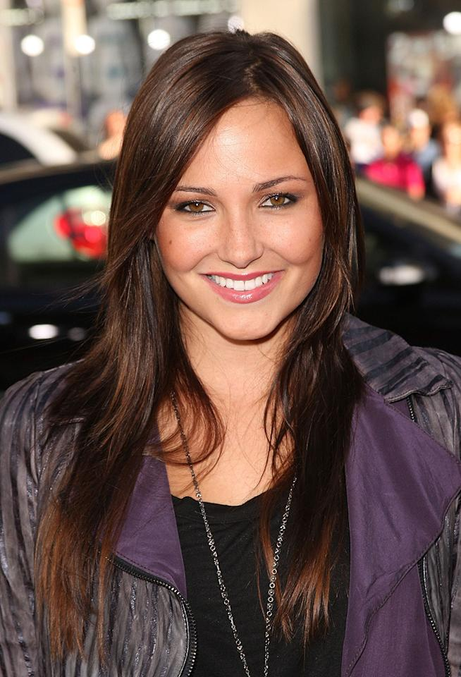 """<a href=""""http://movies.yahoo.com/movie/contributor/1800270917"""">Briana Evigan</a> at the Los Angeles premiere of <a href=""""http://movies.yahoo.com/movie/1810044687/info"""">The Hangover</a> - 06/02/2009"""