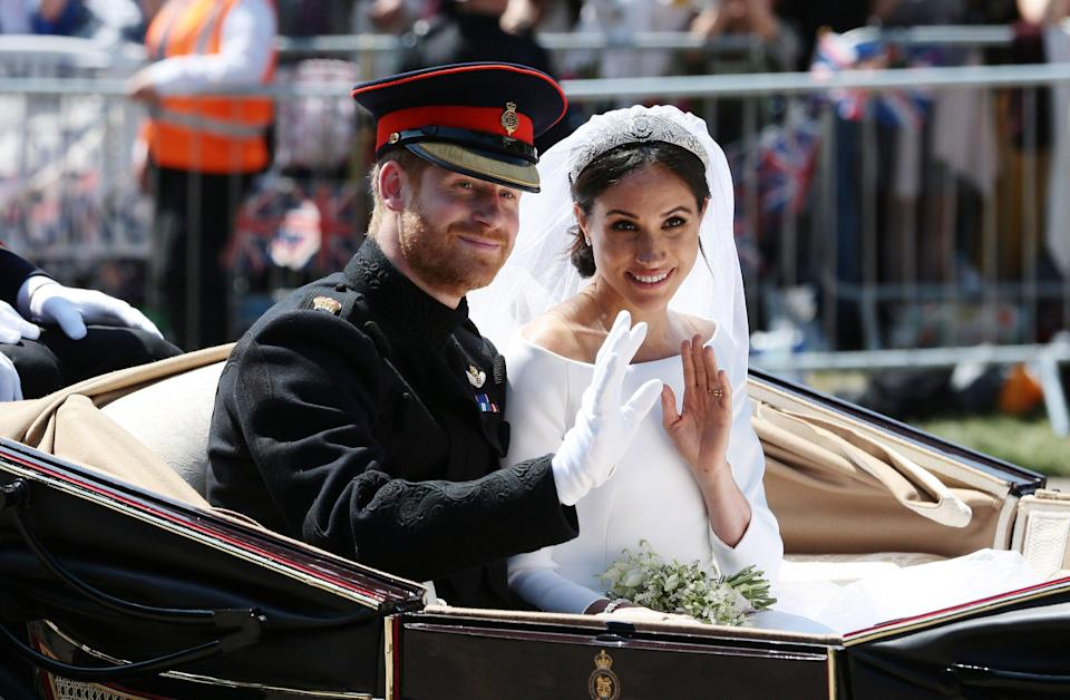 Meghan y Harry se casaron en 2018 (Getty Images)