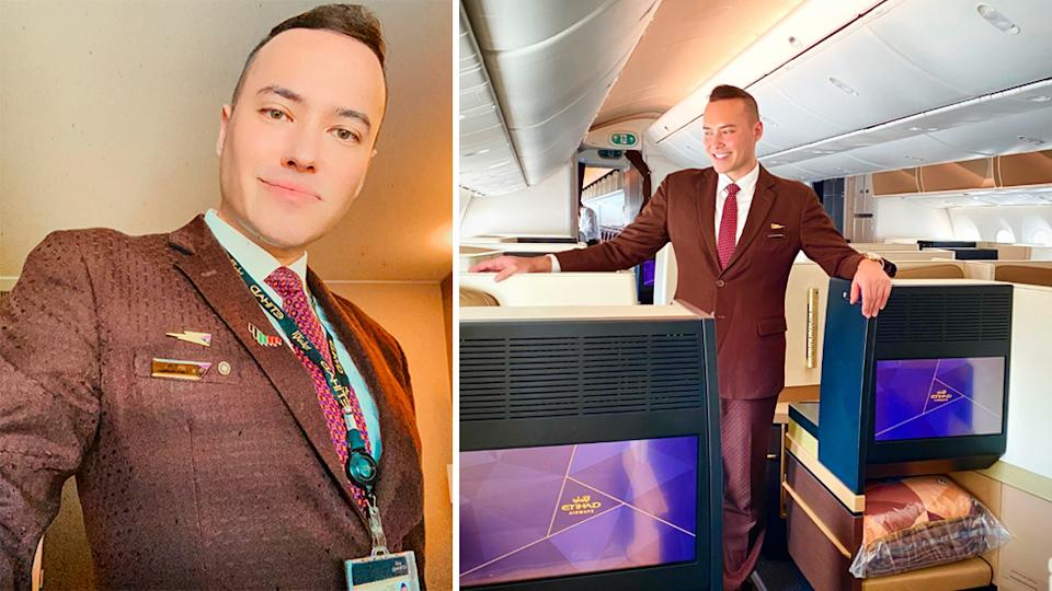 Tom Andersen Etihad Airways Cabin Crew Member