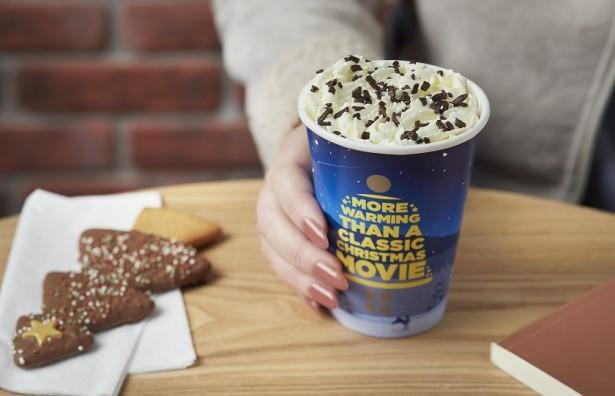 If you want to skip the coffee, Greggs' mint hot chocolate still has 46g of sugar (Greggs)