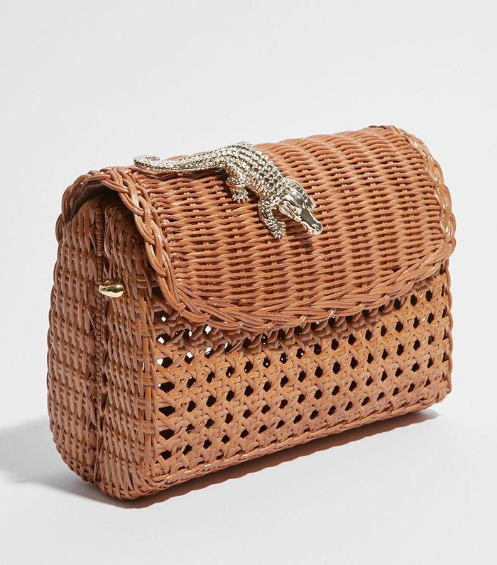 Wicker bags are a French-girl staple.