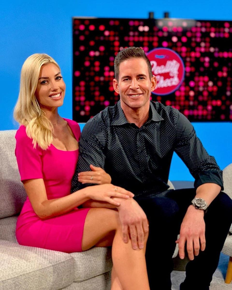 "The <em>Flip or Flop</em> star <a href=""https://people.com/home/tarek-el-moussa-holds-hands-with-heather-rae-young-date-night/"" rel=""nofollow noopener"" target=""_blank"" data-ylk=""slk:celebrated his birthday-eve"" class=""link rapid-noclick-resp"">celebrated his birthday-eve</a> with his new beau. The couple stepped out for dinner in West Hollywood on Aug 20, the night before El Moussa's 38th birthday. Last week, the pair sat down with <a href=""https://people.com/peopletv/video/bs/0000016c-8ca6-de06-a36c-cdb65b600000/reality-check-august-13-2019/"" rel=""nofollow noopener"" target=""_blank"" data-ylk=""slk:PeopleTV's"" class=""link rapid-noclick-resp"">PeopleTV's</a> <em>Reality Check </em>for their first interview as a couple after <a href=""https://www.instagram.com/p/B066BYrJ0i6/"" rel=""nofollow noopener"" target=""_blank"" data-ylk=""slk:going public with their relationship"" class=""link rapid-noclick-resp"">going public with their relationship</a> on Instagram. ""We've been spending a lot of time together … and we just have so much fun,"" El Moussa told PEOPLE. ""We really focus on having fun and living life and just enjoying each other's company. And going out to dinner, and going boating, and… I'm talking too much because I'm excited,"" El Moussa added."