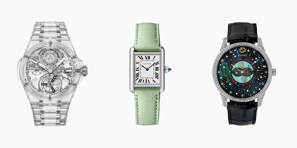 <p>This year in watches brought fresh updates to timeless classics and some brand new game changers. From Bulgari's record breaking calendar piece to Gucci's first step into high watchmaking, here's this year's most exciting pieces. </p>