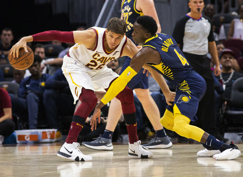 Cavaliers trade Kyle Korver before matchup against the Thunder