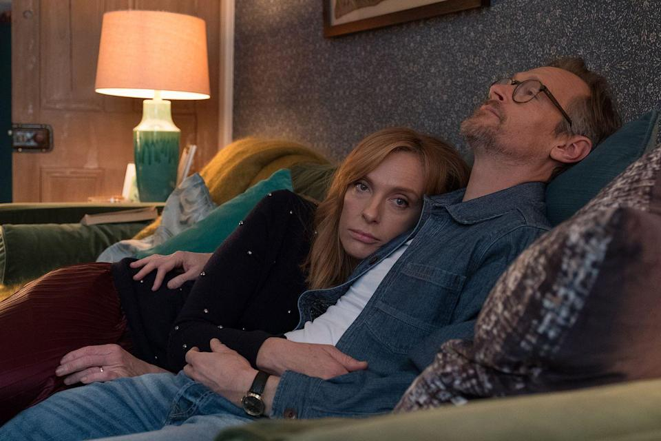 """<p>This dramatic original focuses on life after marriage. In it, Toni Collette's Joy Richards and her husband (Steven Mackintosh) try to salvage their relationship in unexpected ways, turning to their sex lives as a way of rekindling what they lost.</p><p><a class=""""link rapid-noclick-resp"""" href=""""https://www.netflix.com/title/80211465"""" rel=""""nofollow noopener"""" target=""""_blank"""" data-ylk=""""slk:Watch Now"""">Watch Now </a></p>"""