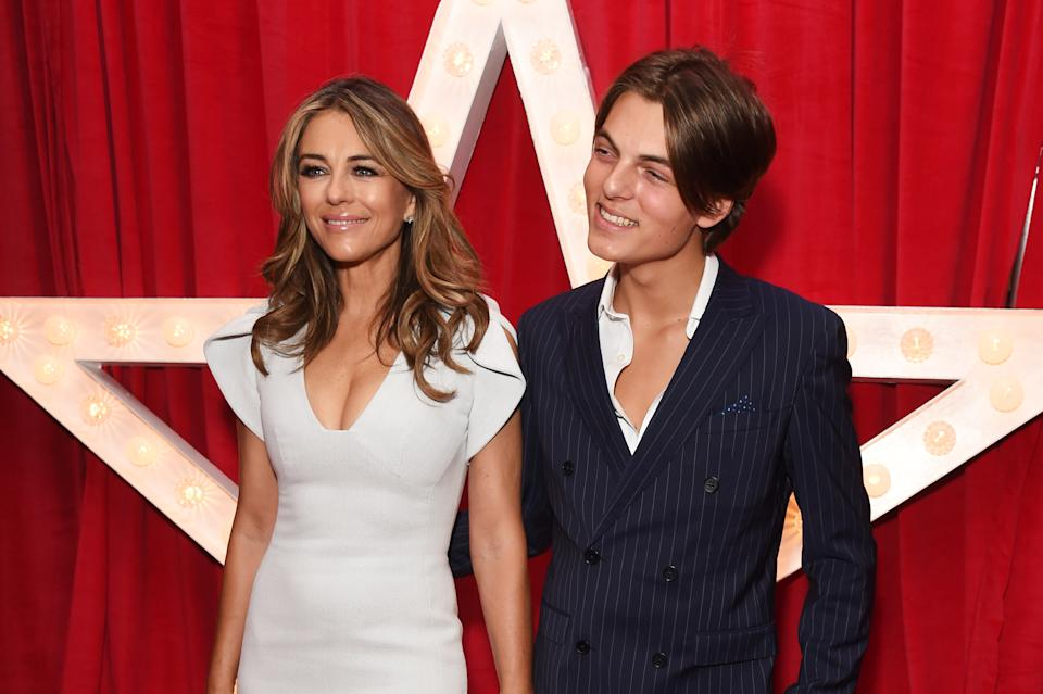 Elizabeth Hurley says she and son Damian are not planning to do a reality show. (Photo: David M. Benett/Dave Benett/WireImage)