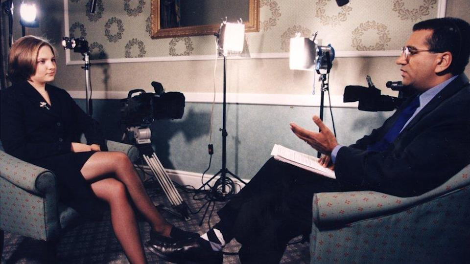 He went on to interview Louise Woodward