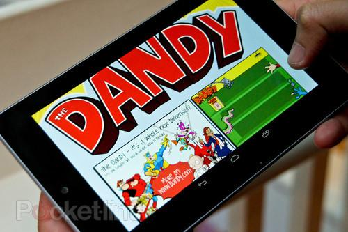 The Dandy digital edition pictures and hands-on