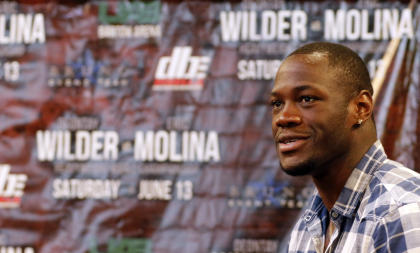 Deontay Wilder vs. Eric Molina isn't expected to be much of a fight. (AP)