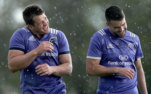 <span>CJ Stander and Conor Murray have plenty to play for with Munster</span> <span>Credit: Rex Features </span>